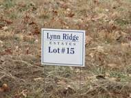 Lot 15  Lynn Ridge  Estates Lynnville IN, 47619