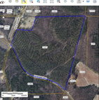 73.84 Ac Hitesburg & Red Bank Virgilina VA, 24598