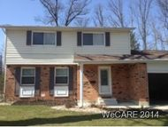 824 Westerly Lima OH, 45805